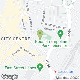 Map of Trinity Family Mediation in Leicester, leicestershire