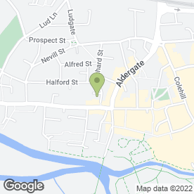 Map of Cicily Bridal in Tamworth, staffordshire
