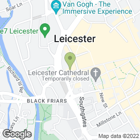 Map of Hotel Maiyango Ltd in Leicester, leicestershire