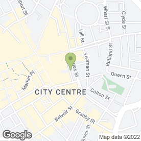 Map of Royal Standard in Leicester, leicestershire