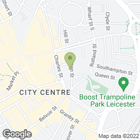 Map of D'BESS CARIBBEAN CATERING in Leicester, leicestershire