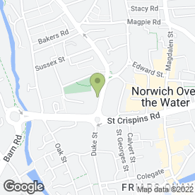 Map of Emma Hart Artist & Art Tutor in Norwich, norfolk