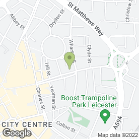 Map of Home Damp Proofing in Leicester, leicestershire