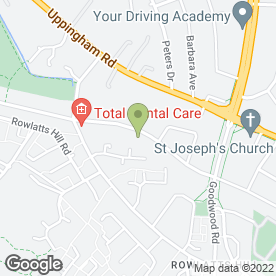 Map of Allandale Plumbing in Leicester, leicestershire