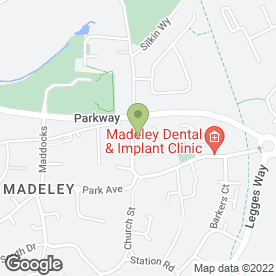 Map of Elliot Bridgeman Solicitors LLP in Madeley, Telford, shropshire