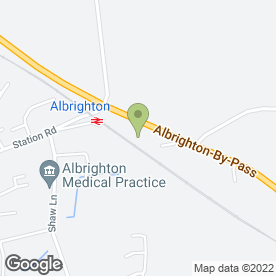 Map of JB's Environmental Services Ltd in Albrighton, Wolverhampton, west midlands
