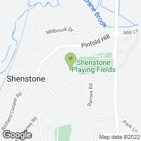 Map of The Westgate Practice in Shenstone, Lichfield, staffordshire