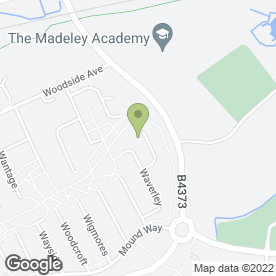 Map of Triumph Security Services in Telford, shropshire