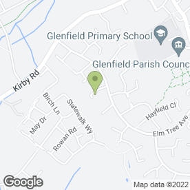 Map of Glenfield Group in Glenfield, Leicester, leicestershire