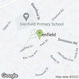 Map of Db Executive Travel in Glenfield, Leicester, leicestershire