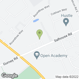 Map of Dunelm Mill in Norwich, norfolk
