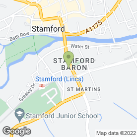 Map of Millets in Stamford, lincolnshire