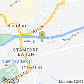 Map of Anglo Integrated Systems Ltd in Stamford, lincolnshire