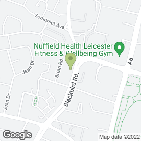 Map of National Tyres and Autocare in Leicester, leicestershire