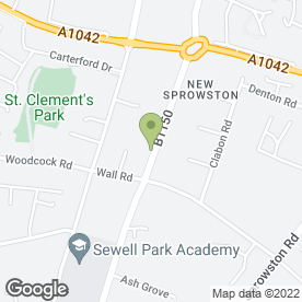 Map of Jigsaw Nursery School in Norwich, norfolk