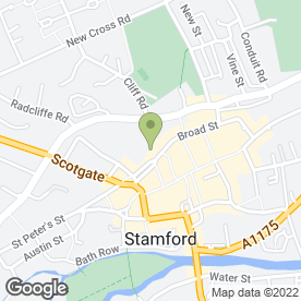 Map of The Events and Tents Company Ltd in Stamford, lincolnshire