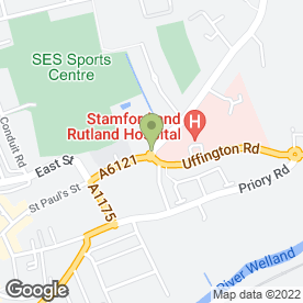 Map of The Stamford Dental Practice in Stamford, lincolnshire