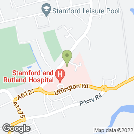 Map of Stamford Sheepmarket Surgery in Stamford, lincolnshire