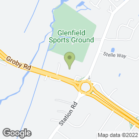 Map of A & P Cleaners in Glenfield, leicestershire