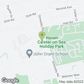 Map of Safe Clean in Caister-on-Sea, GREAT YARMOUTH, norfolk