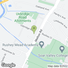 Map of ABC Metal in Leicester, leicestershire