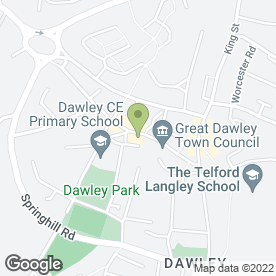 Map of Lloyds TSB Business Banking in Dawley, Telford, shropshire