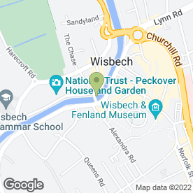 Map of NatWest Bank plc in Wisbech, cambridgeshire