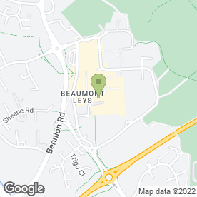 Map of BEAUMONT FLORIST in Leicester, leicestershire