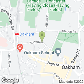 Map of Antiques & Curios in Oakham, rutland