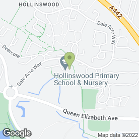 Map of ABC Day Nursery Hollinswood in Telford, shropshire