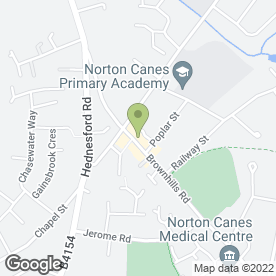 Map of Chequers Hair & Beauty in Norton Canes, Cannock, staffordshire