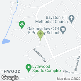 Map of Shrewsbury Couriers in Bayston Hill, Shrewsbury, shropshire