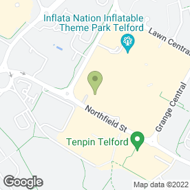 Map of All Terrain Stores Ltd in Town Centre, Telford, shropshire