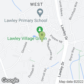 Map of SBCreative in Lawley Village, Telford, shropshire