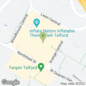 Map of Greggs in Telford, shropshire
