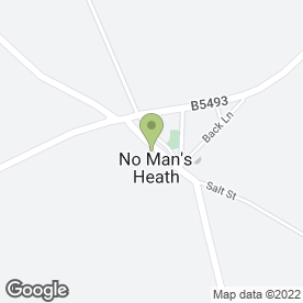 Map of Stockton Satellite Services in No Mans Heath, Tamworth, staffordshire