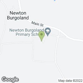 Map of Newton Burgoland General Stores in Newton Burgoland, Coalville, leicestershire