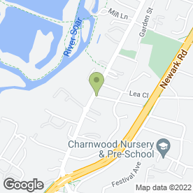 Map of A & T Electrical Services in Thurmaston, Leicester, leicestershire