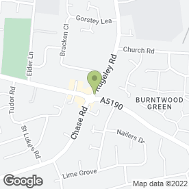 Map of Foster & Co Solicitors in Burntwood, staffordshire