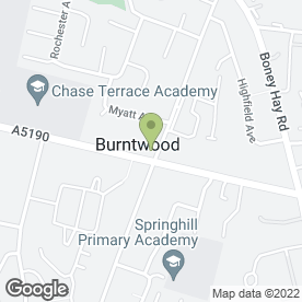 Map of Glyn T Jones Photography in Chase Terrace, Burntwood, staffordshire