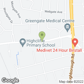 Map of A.J Brennan in Birstall, Leicester, leicestershire