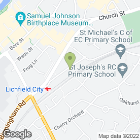 Map of Mr Tyre Auto Service Centre - Lichfield in LICHFIELD, staffordshire