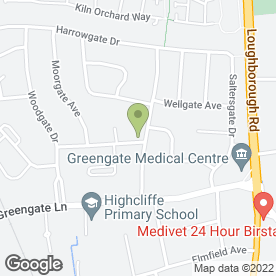 Map of Head Rush Hairdressers in Birstall, Leicester, leicestershire