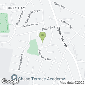 Map of Walmley Driving School in Burntwood, staffordshire