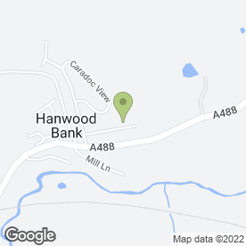 Map of SJP Tree & Hedging Services in Hanwood, Shrewsbury, shropshire