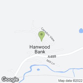 Map of K & A Grab Hire & Groundworks Ltd in Hanwood, Shrewsbury, shropshire