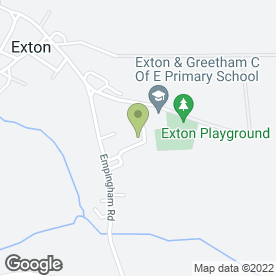 Map of Andy Peaple Catering Services in Exton, Oakham, rutland