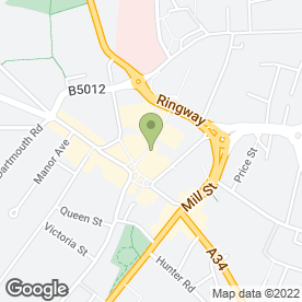 Map of Dorothy Perkins Retail Ltd in Cannock, staffordshire