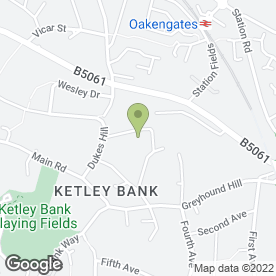Map of B.R. Price in Ketley Bank, Telford, shropshire