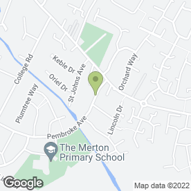 Map of Curnock Home Maintenance in Syston, Leicester, leicestershire